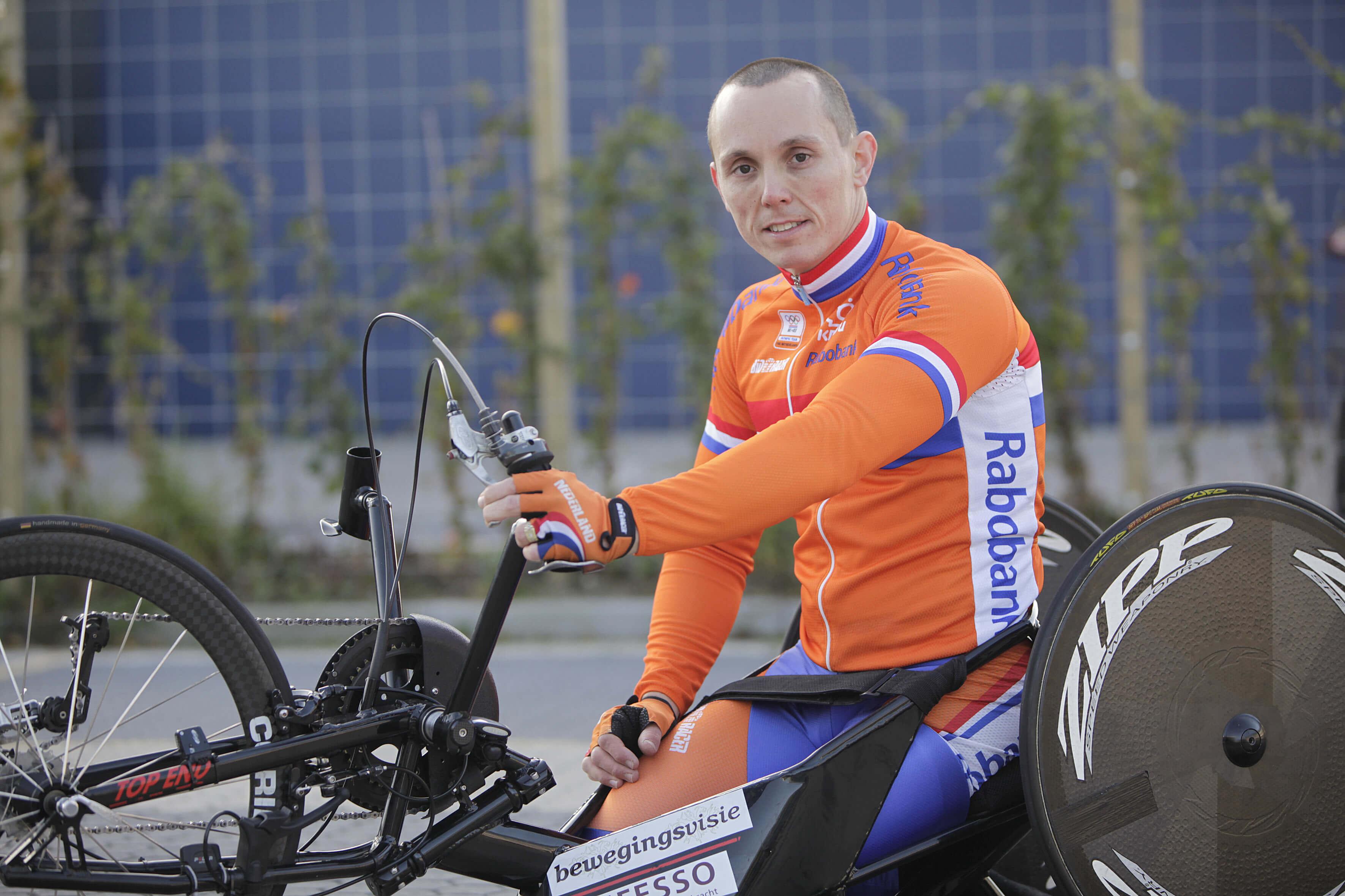 Tim de Vries - Handbiker
